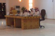 امسيات الساحات التي انطلقت يوم الخميس في صالة مركز الامير سلطان الحضاري