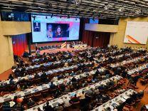 اختتام أعمال المؤتمر الدولي الـ33 للصليب الأحمر والهلال الأحمر جنيف 15 ربيع الآخر 1441 هـ الموافق 12 ديسمبر 2019 م
