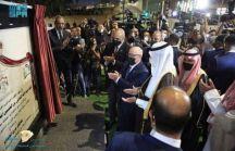 افتتح الصندوق السعودي للتنمية في العاصمة الأردنية عمان، مشروع التقاطعات المرورية