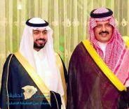 امير منطقة حائل الأمير عبدالعزيز بن سعد يحتفل بزواج نجله الأمير ( سعد )