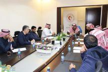 الهلال الأحمر السعودي يناقش استعداده وجاهزيته للمشاركة في موسم حائل