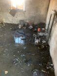 مدني الكهفه يخمد حريق شب في غرفة عامل بإحدى المزارع