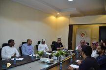 هلال أحمر حائل يجتمع مع المستشفى السعودي الألماني للتنسيق وتعزيز التعاون عند نقل الحالات الإسعافية الطارئة
