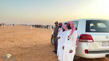 هيئة الأمر بالمعروف بمنطقة حائل تشارك في مهرجان مزاد الإبل في تربة