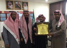 الإعلامي سعود الحميد ،، يكرم الأستاذ ماجد بن نواف المسمار