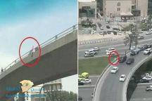 شرطة الرياض تصدر بياناً حول واقعة الشاب الذي حاول الانتحار من فوق جسر ميدان القاهرة