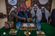 مديرية مياة حائل تحتفل بمناسبة تحقيق 3جوائز بصمة ،والتميز للجمعان