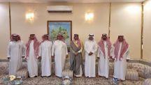 استضاف حفيد ( معشي الذيب ) عبدالعزيز بن سطم السعيّد في منزله العميد. متقاعد سعود بن سند آل علي