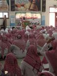منسوبو متوسطة اجا بحائل يؤدون صلاة الاستسقاء بالمدرسة اليوم الخميس