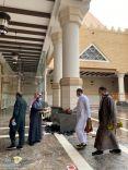 فرع وزارة الشؤون الإسلامية والدعوة والإرشاد بحائل ينفذ حملة وقاية