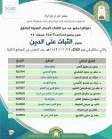 فرع وزارة الشؤون الإسلامية والدعوة والإرشاد بحائل يقيم برنامج دعوي