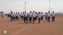 لجنة التنمية الإجتماعية بالقاعد تنفذ برنامج السير الطويل بمشاركة عدد من فرق المشي بمنطقة حائل