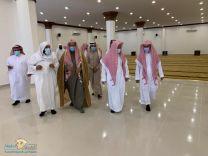 مدير عام فرع وزراة الشؤون الإسلامية بحائل  يقوم بزيارة تفقدية لمسجد الشيخ / حمود الحسين الشغدلي