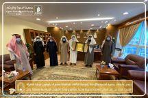*مُدير عام فرع الشؤون الإسلامية بحائل يستقبل رئيس وأعضاء جمعية الدعوة بمحافظة سميراء*