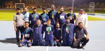 نادي حائل يحصدون 17 ميدالية في بطولة المملكة لألعاب القوى