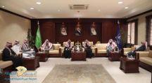 معالي رئيس جامعة حائل يستقبل الأمين العام لرعاية الأيتام