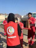 تنفيذ مبادرة ( أصدقاء النظافة )بإشراف عدد من المتطوعات المنتسبات للهلال الأحمر بحائل