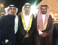 الأستاذ سالم اليوسف العنزي يحتفل بتخرج نجله ( خالد ) من جامعة حائل