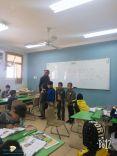 درس نموذجي في مدرسة صلاح الدين بسميراء بضيافه الاستاذ عيسى العنزي