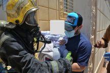 مدني حائل يخمد حريق إندلع بشقة وإخلاء ستة أشخاص دون إصابة أحد بأذى