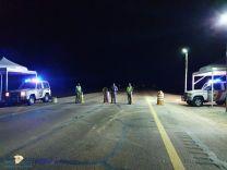 مركز شرطة تربة يعمل ضمن نقطتين منع مع الحدود الشمالية