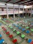 جانب من استعدادات مدرسة متوسطة القاعد تحفيظ (فصول عزام الدخيل) وعام التابعة لتعليم حائل