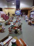 تحت شعار ( الزم بيتك ) جمعية البر الخيرية بفيضة بن سويلم تقوم بتوزيع سلة غذائية رمضانية