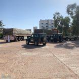 القبض على أكبر شحنة حطب السمر المحلي على طريق حائل الشنان