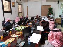 الاجتماع الاول للجنه التنفيذيه لاسبوع البيئه بحائل