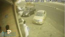 """فيديو جديد لحادثة دهس """"شيول"""" للمركبات المتوقفه"""