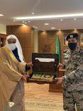 مدير عام الشؤون الإسلامية بحائل استقبل مدير عام سجون المنطقة