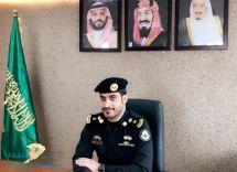 المقدم/ خالد بن شديد المطيري مديراً لشعبة الدوريات بإدارة دوريات الأمن بمنطقة حائل