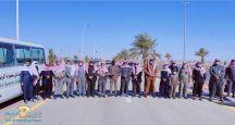 نادي سميراء الرياضي ينظم رياضه المشي  بحضور محافظ سميراء