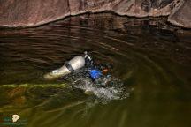 غرق شاب في مستنقع مائي ضمن تجاويف صخرية وسط الجبال غرب حائل .
