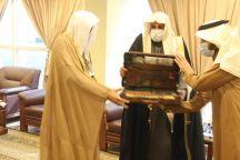 فرع وزارة الشؤون الإسلامية بمنطقة حائل  السائح يستقبل مدير عام الهيئة بالمنطقة
