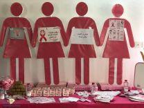 مركز صحي النعي اقام حملة توعوية باضرار سرطان الثدي وطرق الوقاية منه والمشف المبكر عنه .