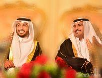 """دخيل بن صالح الغيثي يحتفل بزواج أبنيه الشابين """" صالح و خالد """""""