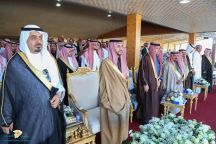 نائب أمير منطقة حائل يرعى حفل سباق الفروسية على دعم الراعي الرسمي شركة مياه آبار حائل