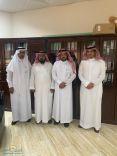 الاستاذ احمد اللويبان يحصل على الماجستير  في الاداره التربويه بتقدير ممتاز