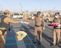 مدير شرطة حائل يهنيء منسوبي الأمن بحلول عيد الفطر المبارك