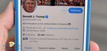 """إدارة تويتر تعاقب """" ترامب """" وتمنع التعليق على تغريدة دعا فيها إلى إطلاق النار على المتظاهرين"""