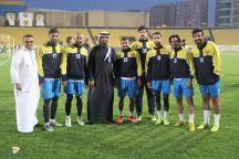 """رئيس القسم الرياضي في صحيفة عين الحقيقة """"المسمار"""" يزور نادي القادسية الكويتي"""