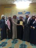 تكرم البطل الأستاذ توفيق بن صالح الاحمدي على عملة البطولي في إنقاذ محتجز بجبال مشار