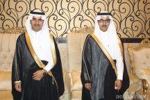 """يحتفل بزواج أبنيه الشابين الدكتور """" محمد """" , الملازم أول """" نايف """""""