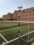 إنشاء ملعب كرة قدم سباعي للطالبات بـ #جامعة_حائل