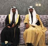الاستاذ مرشد الخليف الهرشان يحتفل بزواج ابنيه