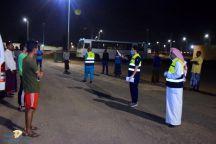 نفذ قبل قليل مستشفى شراف بحائل حملة لإجراء مسح صحي ميداني لسكن العمالة في حي العزيزية