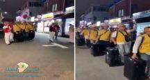 مشهد مهيب لمسلمي كوريا الجنوبية بطريقهم لمكة لأداء فريضة الحج