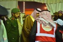 أمير حائل يزور جناح جوازات المنطقه ضمن فعاليات الرالي