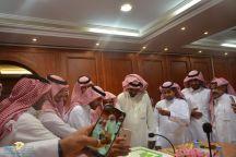 بلدية محافظة السليمي تعايد منسوبيها